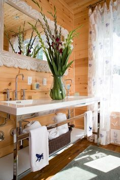 Adirondack decor on pinterest log homes log wall and for Adirondack bathroom ideas