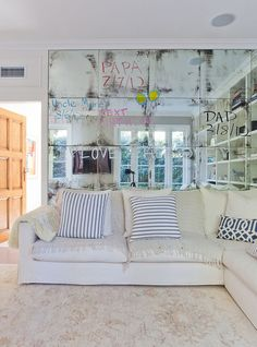 decor, interior, living rooms, teen rooms, antique mirrors