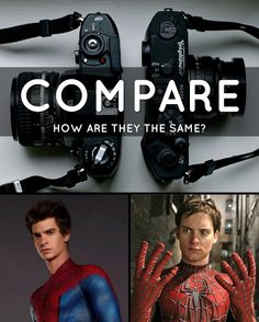 Tell how these two are the same COMPARE#12words