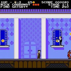 Great Gatsby video game, 1987