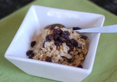 Oatmeal - 100 Days of Real Food