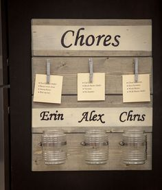 Get organized for back to school with a DIY chore chart created at a free DIH Workshop with The Home Depot! #DIHWorkshop #Ad