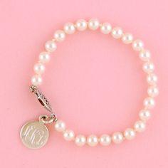 monagram pearls