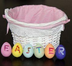 Easter Basket Door Decoration