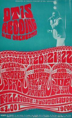 Otis Redding & His Orchestra Poster, 1966