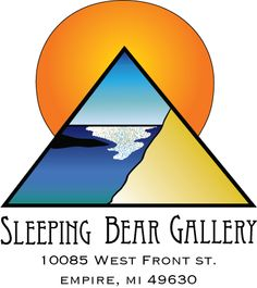 Sleeping Bear Gallery  Located on Front St in Empire, one block west of M-22, in the historic Empire Clipper Building, Enjoy a collection of art including Metals, Wood, Glass, Fibers, Paintings, Sculptures, Ceramics, Photography.  Interactive gallery with guest lectures from featured artists and live demos.  Open May thru Oct, Mon-Wed 10 am - 6 pm; Thurs-Sat 10 am - 8 pm, and Sun 11 am - 5 pm.  231.326.2278  heather@sleepingbeargallery.com  becky@sleepingbeargallery.com