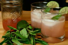 Rhubarb bloom cocktail-The Whole Kitchen