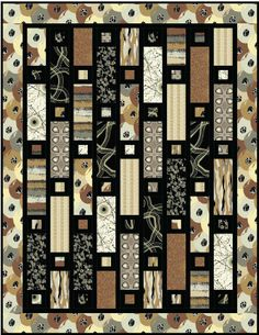 Button Holes quilt by Mountainpeek Creations. Click on the picture to get the pattern.