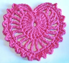 Free Pattern. Yarn Over Mo: Fancy Heart