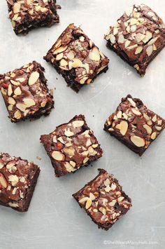 Almond Joy Brownies from @wearsmanyhats