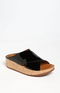Must try these.  FitFlop 'Kys' Sandal | Nordstrom