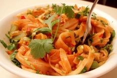 Totally Rad Pad Thai—classic and delicious.