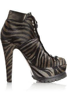 Zebra-print calf hai