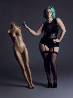 models, elli mayday, fashion, style, plus size, curvy women, beauti, hair, curves