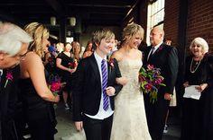 lesbian wedding love couple
