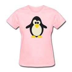 Penguin t-shirt http://kreativeinkinder.spreadshirt.com/