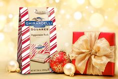Everyone loves the gift of chocolate | http://www.ghirardelli.com/store/shop-products/collections/peppermint-bark.html/?utm_source=Pinterest&utm_medium=Social&utm_campaign=peppermintbark