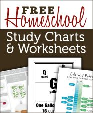 Free charts and graphics