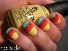 NAIL stripes for FALL