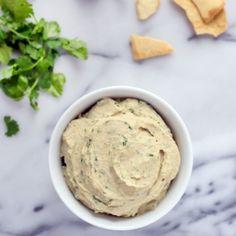 Cilantro Jalapeño Hummus Recipe