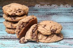 how to make delicious gluten-free chocolate chip cookies #recipe | Busy-at-Home