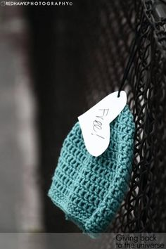 Crochet Hats For The Homeless (Large Photos) - CROCHET