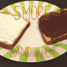 Fun S'mores Recipes for Kids:  S'More Sandwich