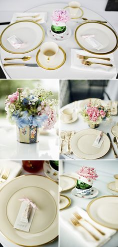 Elegant baby shower brunch