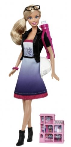 17 Barbies We're Glad Mattel Made: Architect (2011) - How fab—now she can design her own Dream House!