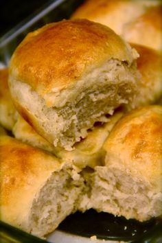 No-Knead Dinner Rolls (Artisan Bread in Five Minutes A Day)