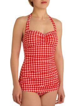 vintage bathing suit!