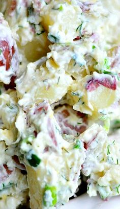 Parmesan Dill Potato Salad