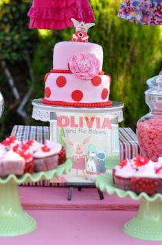 Olivia the Pig Baby Shower #babyshower #oliviathepig
