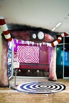 Tim Burton Exhibition# www.kellysoap.com#