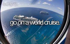 bucketlist, semester at sea, 6 months, dream come true, cruises