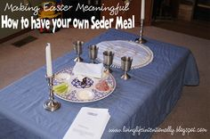 How to have your own Seder Meal to celebrate #Easter. A wonderful #kidsactivity.