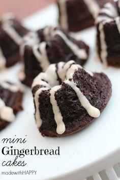 Mini Gingerbread Cak