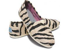 Zebra toms!! :O