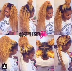 So beautiful I'm definitely styling my hair like some of these styles