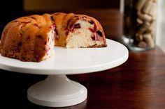 Cranberry Cream Cheese Bundt Cake