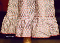 Pioneer prairie skirt ruffle
