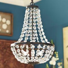 Camille Chandelier  | Lighting | Ballard Designs $170.00