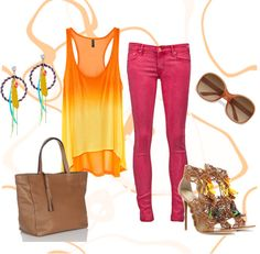 Happy Colorful, created by angeliquemimms on Polyvore
