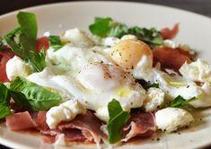 Prosciutto & Mozzarella w/Poached Eggs