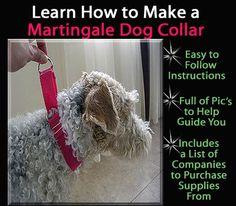 DIY martingale dog collar