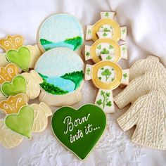 Born to be Irish, cookie set