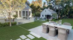 LA house - Backyard