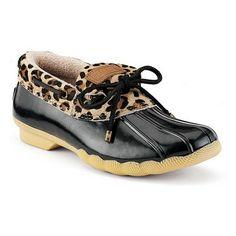 Leopard Duck Shoes