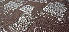 KOKKA Vintage Handmade n Thread Spool Cotton Blend
