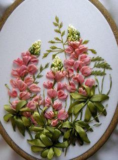 embroideri ribbon, ribbon art, silk ribbon embroidery, ribbon delight, ribbon embroideri